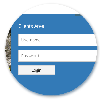 Clients Manager - Clients Login Area