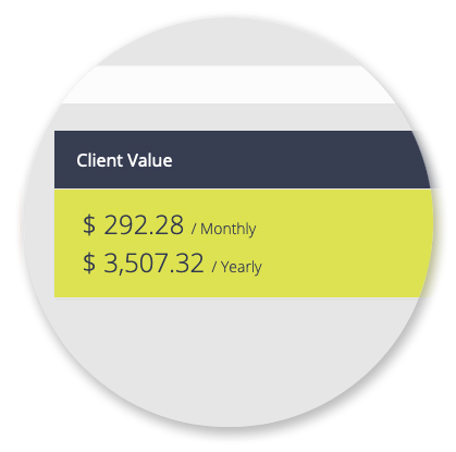Clients Manager - Client Value