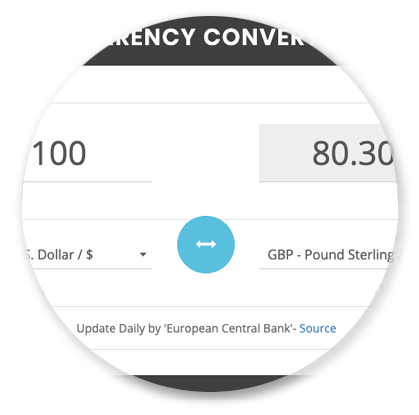 Price Quotes - Currency Converter