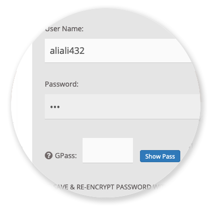 Servers / Panels - Password Protection GPass