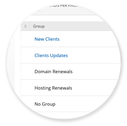 To-Do's - Groups