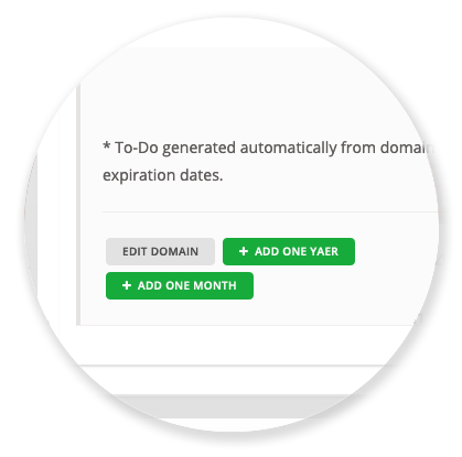 To-Do's - Quick Buttons