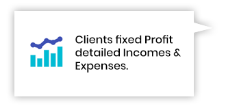 Clients Fixed Profit - Detailed incomes & expenses